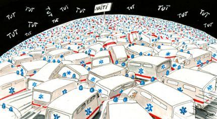Haïti : se laver les mains et les essuyer par terre