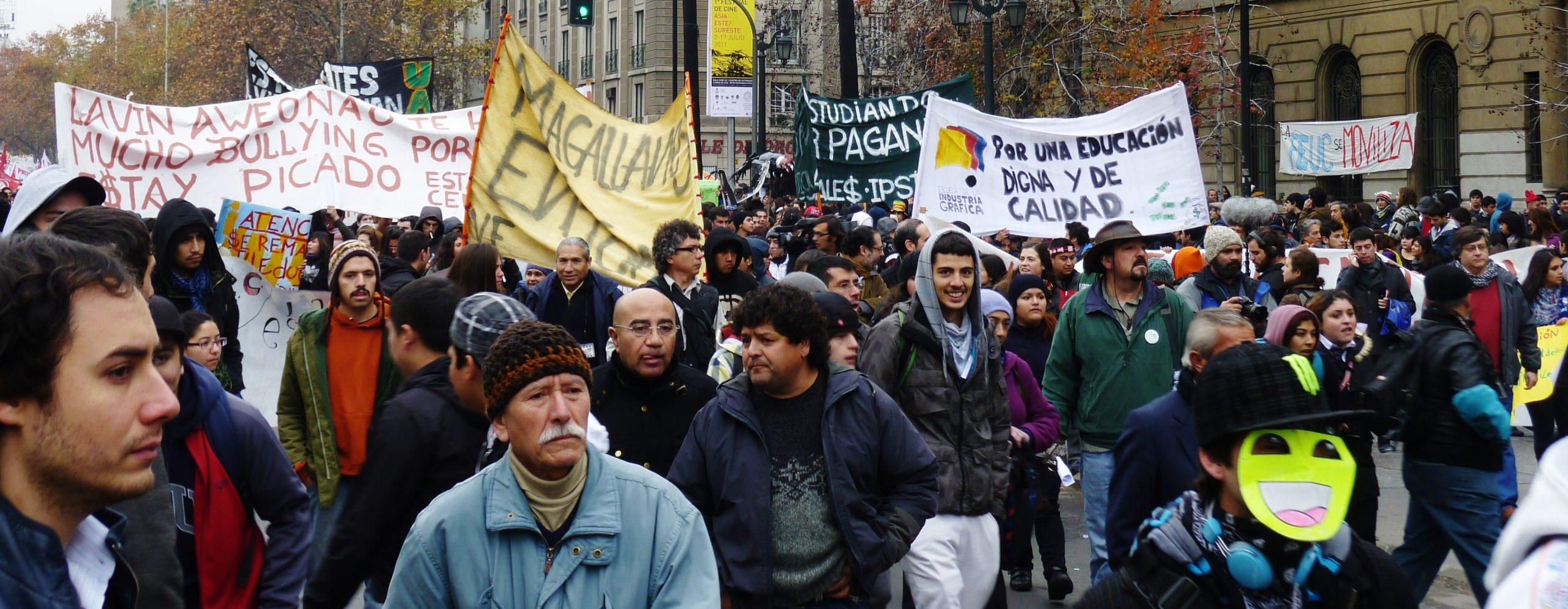 Le Chili trois ans après le mouvement étudiant de 2011 (1/2) : action collective et alternance politique.