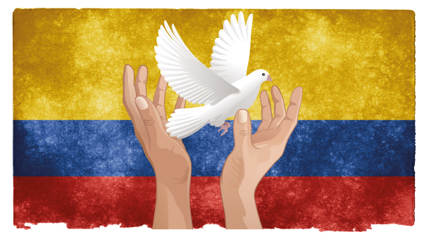 La Colombie sur le chemin de la paix.