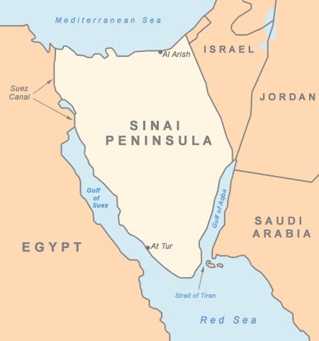 Sinaï, une péninsule en voie de déstabilisation.