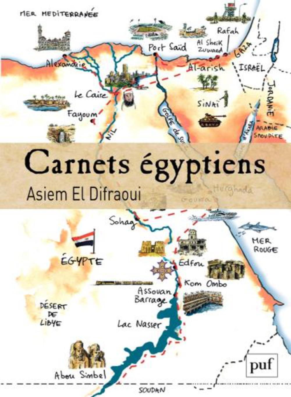 Fiche de lecture: Asiem el Difraoui, Carnet égyptiens