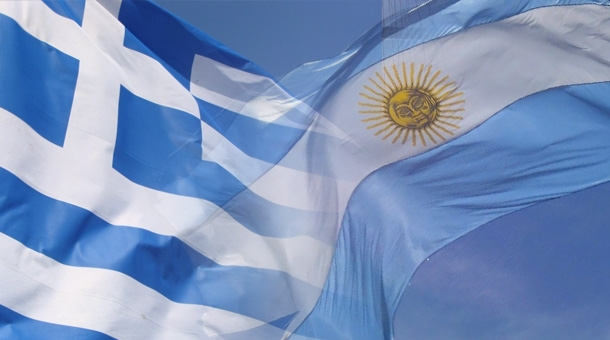 Argentine-Grèce : même combat ?