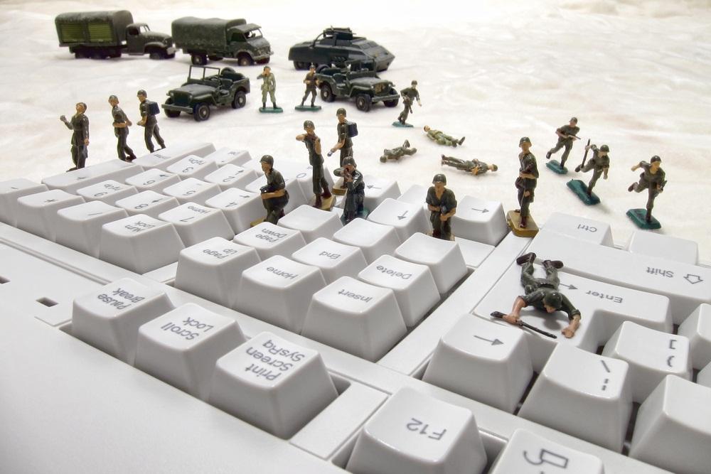 Les méthodes de la cyberguerre enjeux d'hier et pratique de demain.