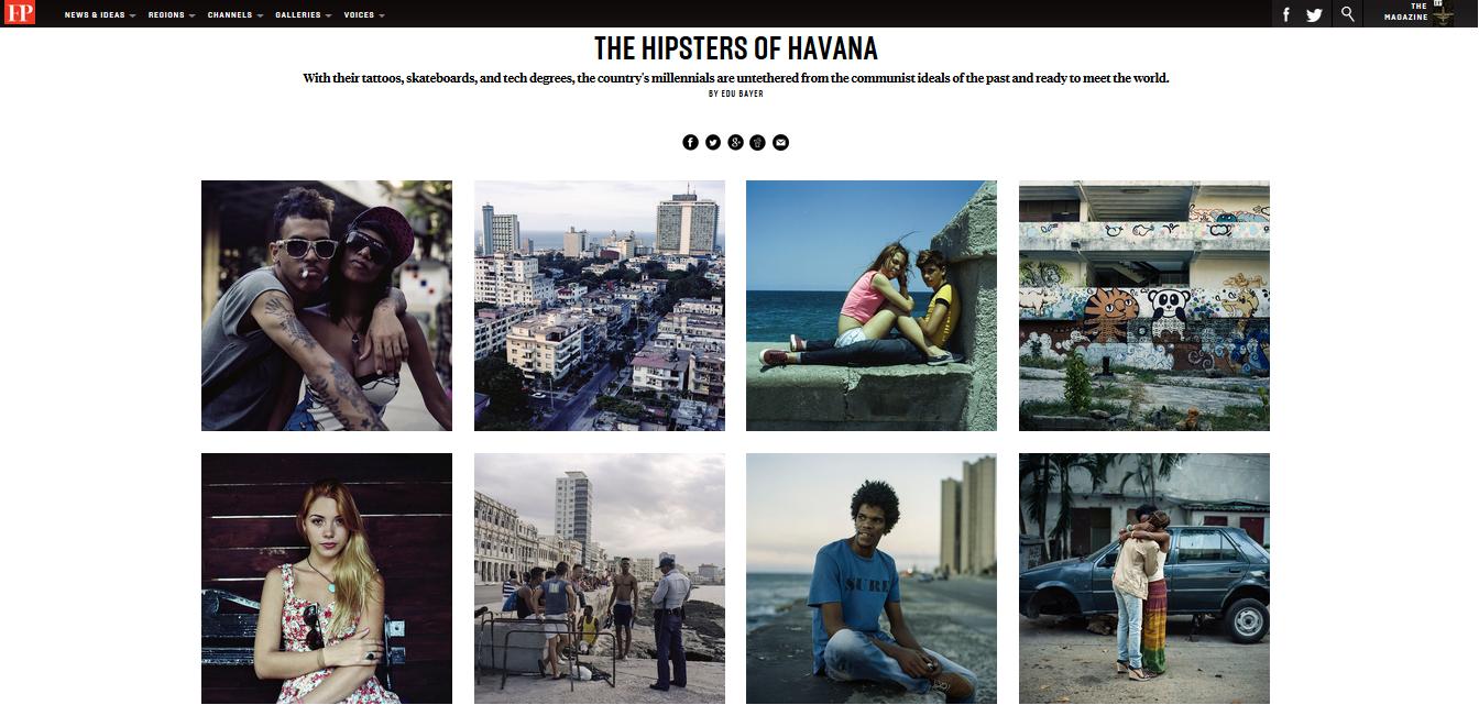 Etats-Unis-Cuba : le vent du changement souffle sur le Malecón.