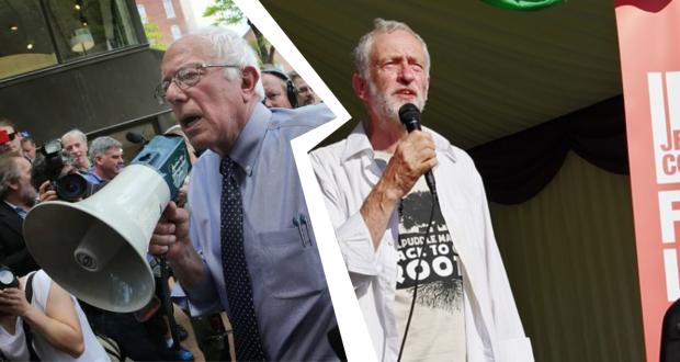 Sanders et Corbyn : deux vieux dans le vent.