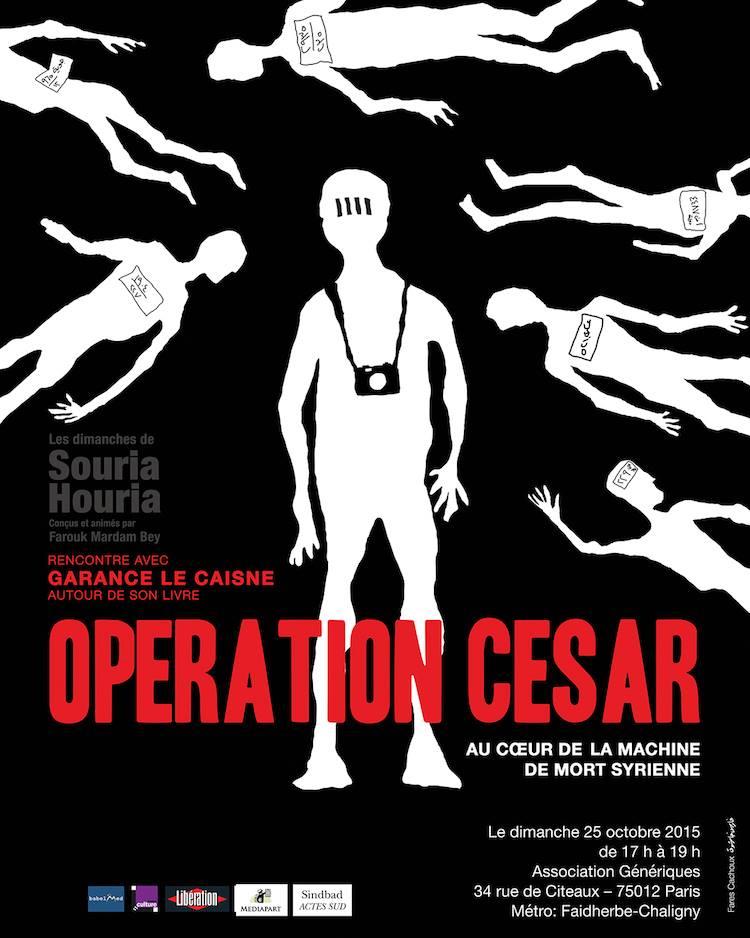 """""""Il y aura une justice"""": Rencontre avec Garance Le Caisne, auteur de l'ouvrage sur l'Opération César"""