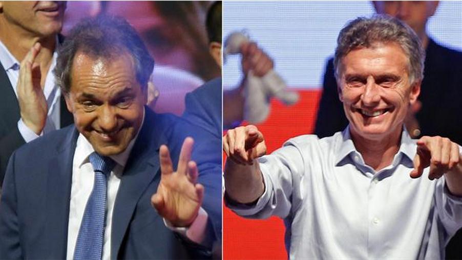 Surprise au premier tour de l'élection présidentielle argentine.