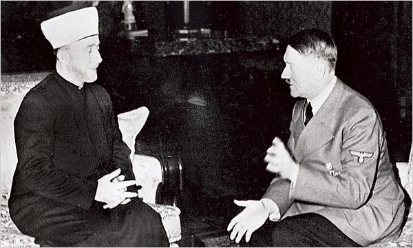 La rencontre entre Hitler et le Grand Mufti de Jérusalem le 28 novembre 1941