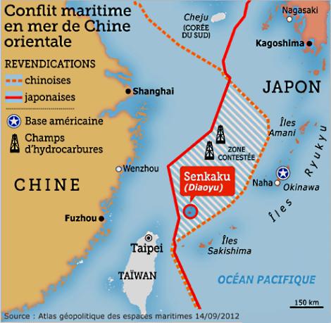 Conflit maritime en mer de Chine orientale