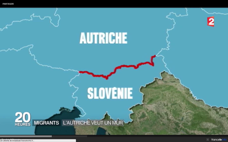Un mur à la frontière entre l'Autriche et la Slovénie : info ou intox ?