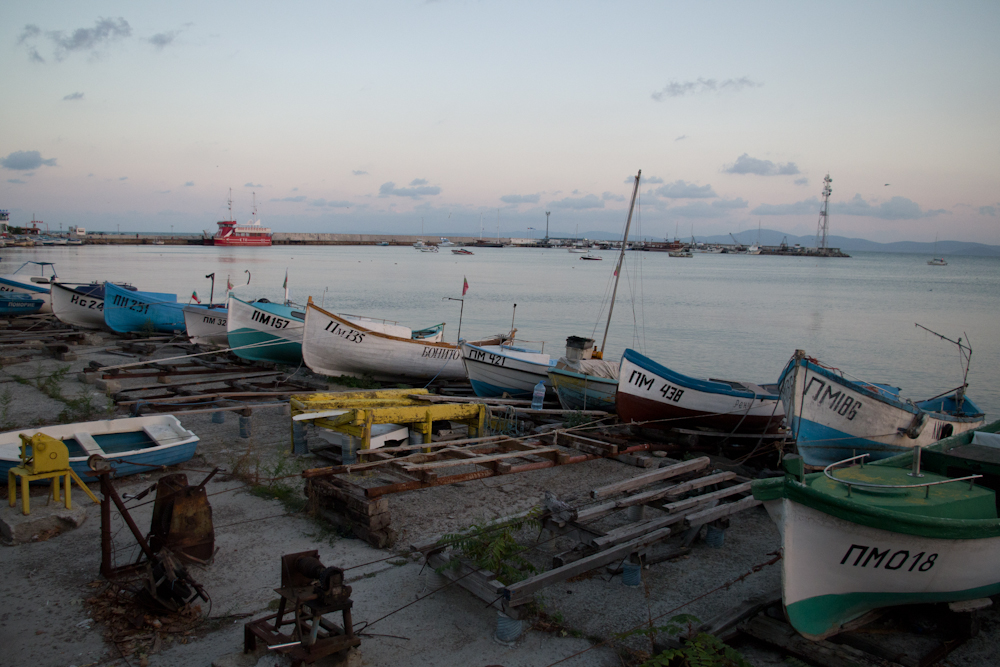 Splendeur et décadence de la Bulgarie, j'ai visité Pomorie ville au bord de la mer Noire