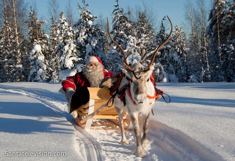 Le Père Noël : de la Laponie à l'esprit de Noël