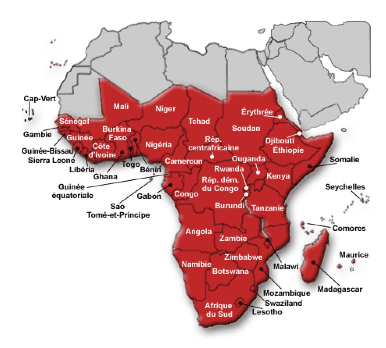 Géoéconomie de l'Afrique subsaharienne