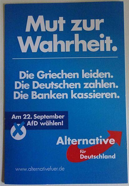 Échiquier politique allemand et crise des réfugiés