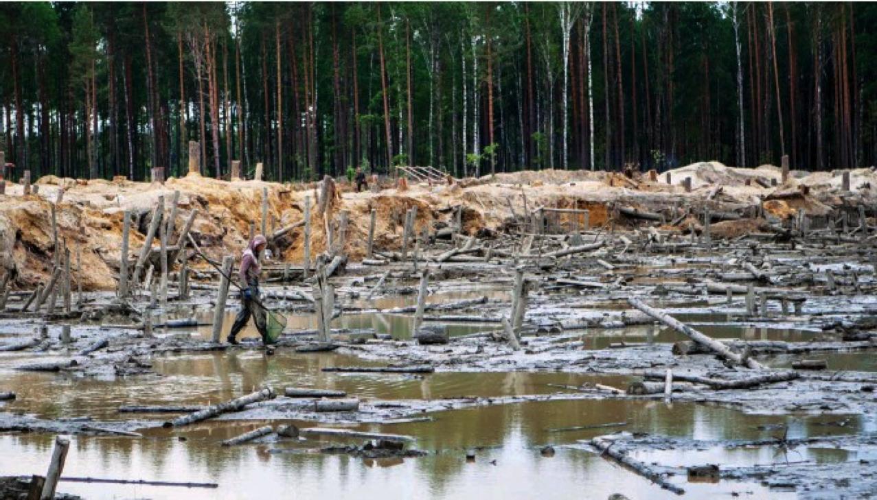 Ukraine : les mines d'ambre de Rivne, vers un nouveau Donbass ?