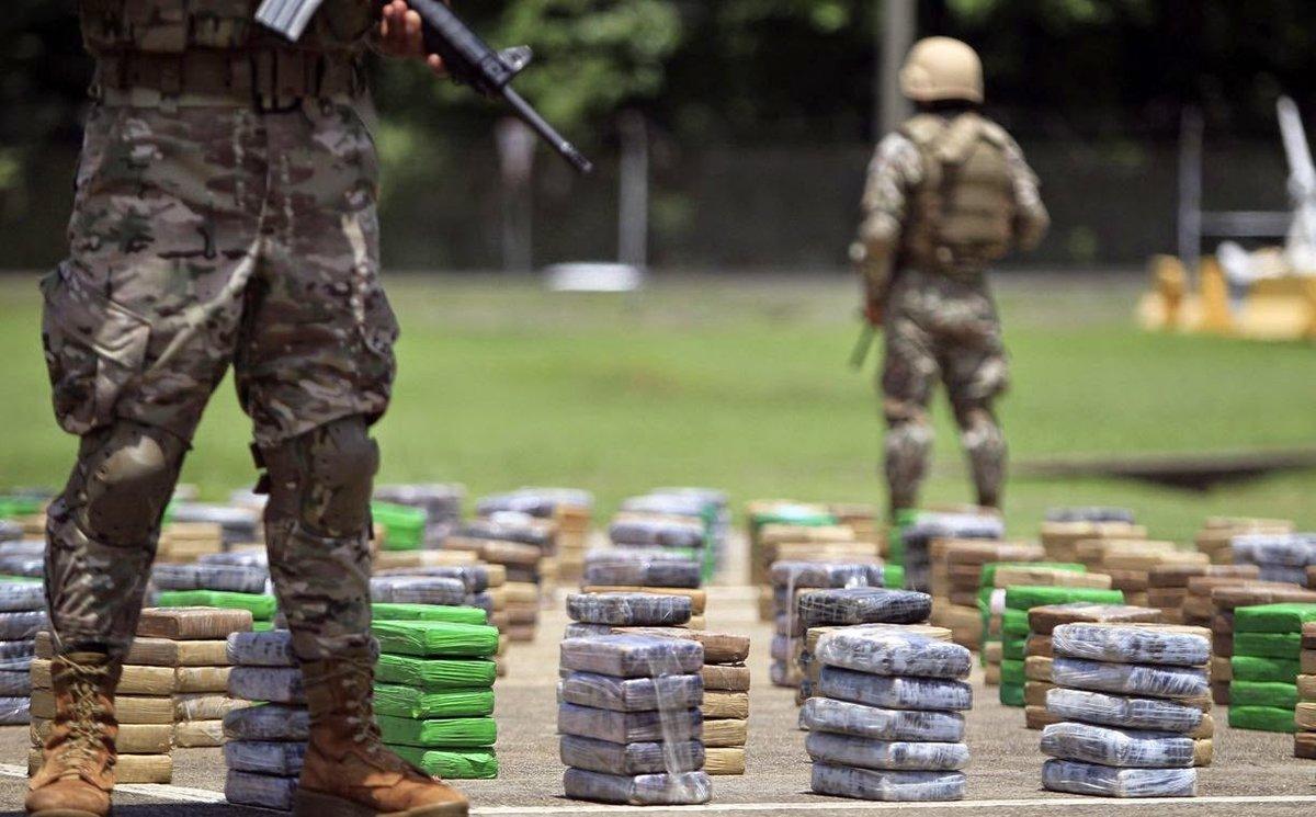 La puissance du narcotrafic en Colombie face à l'Etat entre 1980 et 1995