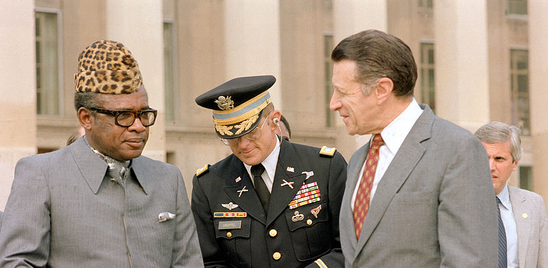 Mobutu, espoir des Congolais devenu paria