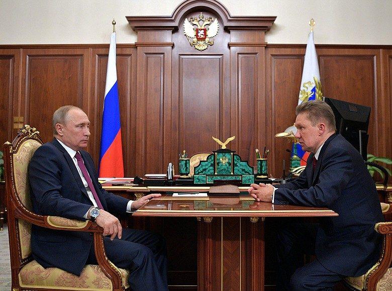 Gazprom au coeur de la puissance russe