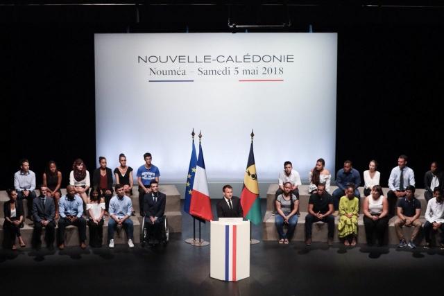 La Nouvelle-Calédonie face à la France