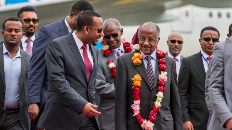 Éthiopie- Érythrée, début de pourparlers historiques