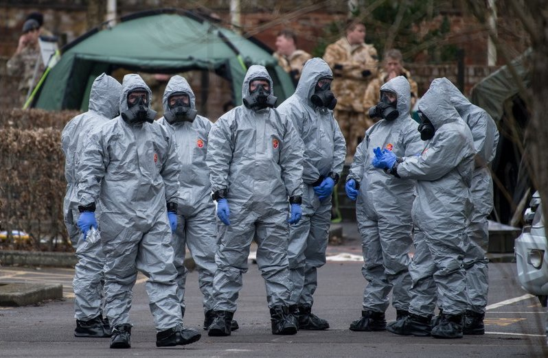 Information battleground against a backdrop of espionage: the Sergei Skripal case