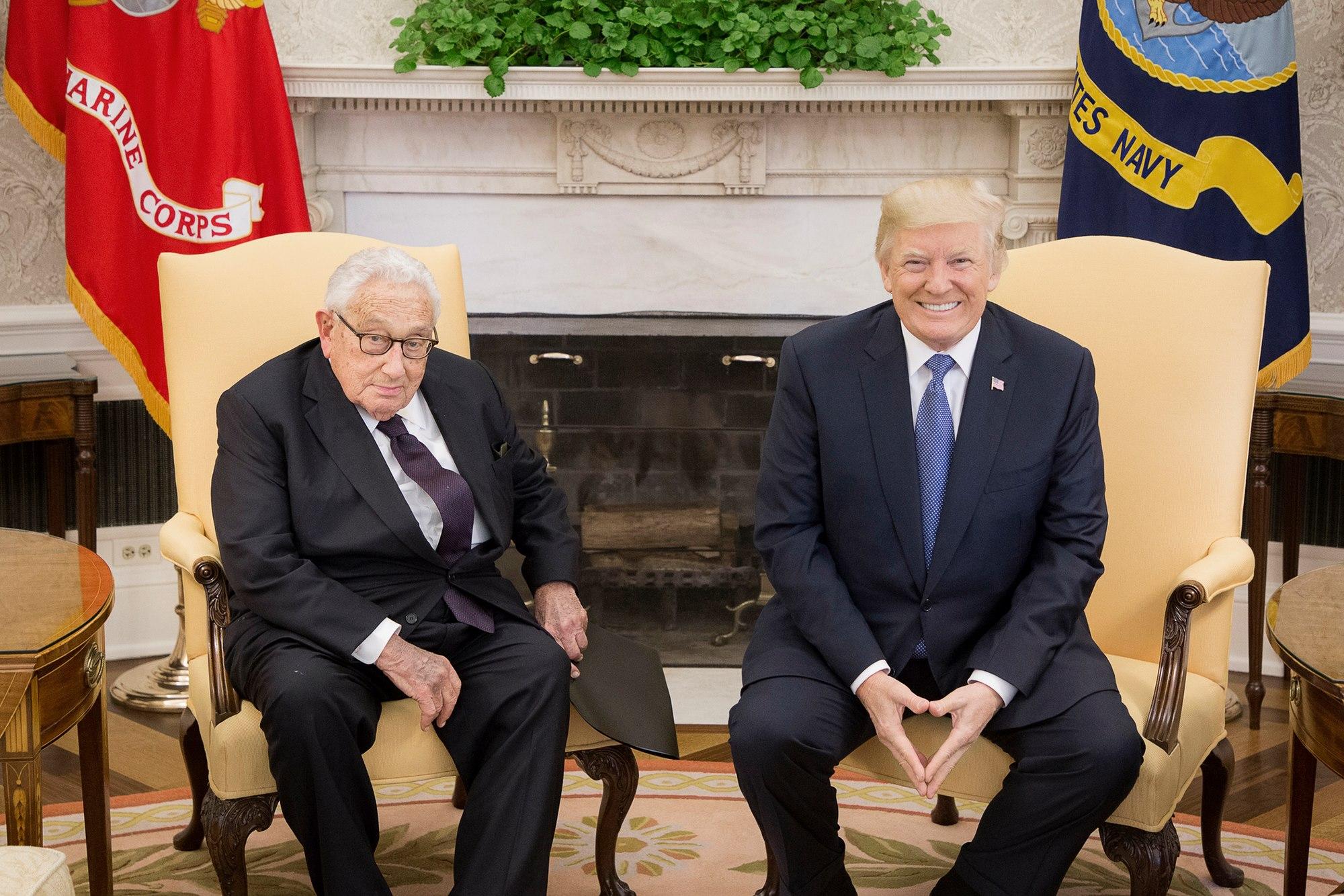 Cartographier la politique étrangère américaine avec Henry Kissinger