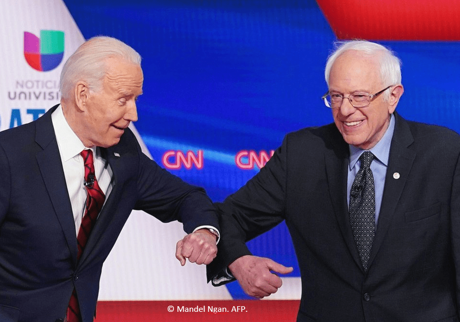 Les primaires démocrates : un duel au sommet entre Joe Biden et Bernie Sanders