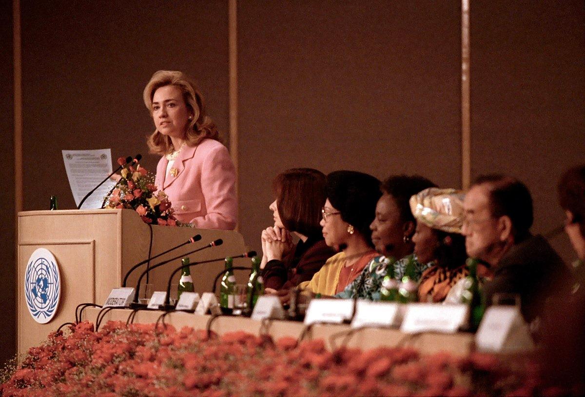 La conférence mondiale sur les droits des femmes à Pékin en 1995, un tournant dans le programme mondial pour l'égalité des sexes