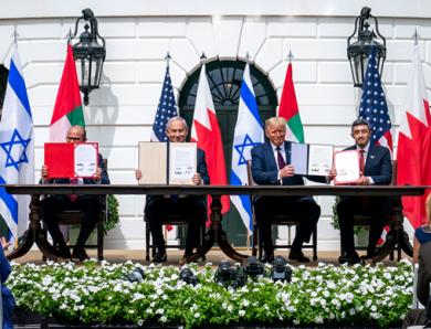 Les accords d'Abraham israélo-émirati : quels enjeux géopolitiques pour le golfe Arabo-Persique ?