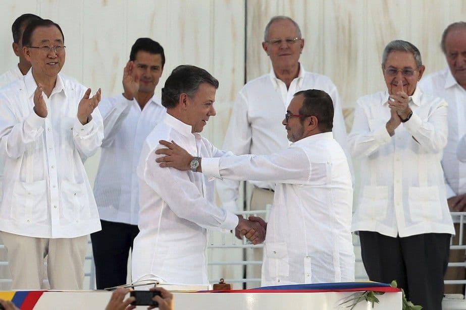 Le processus de négociation de paix avec les FARC en Colombie: quels résultats ?